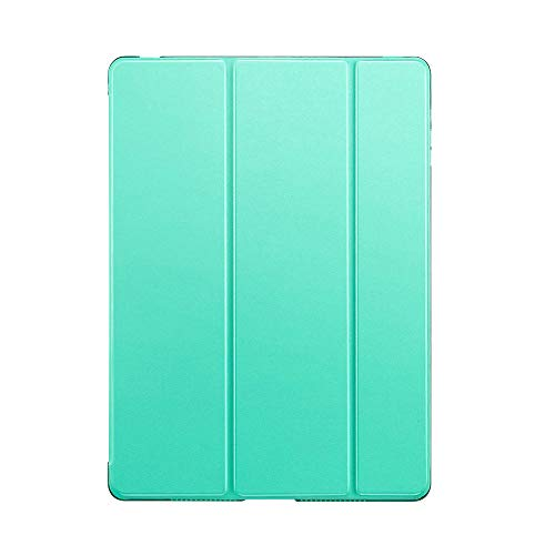 YYLKKB For iPad 10.2 inch 2020 For ipad 8th Gen 10.2 A2428 A2429 PC Back PU Leather Smart Cover Auto SleepAuto Sleep-Mint -10.2 2020 8th