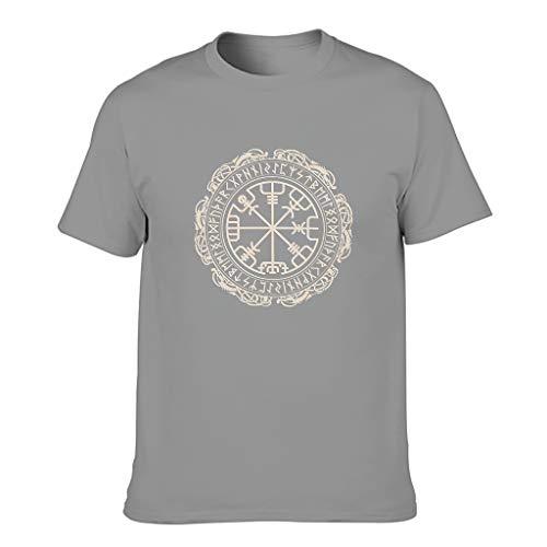 FFanClassic Camiseta de algodón para hombre, diseño vikingo, divertido