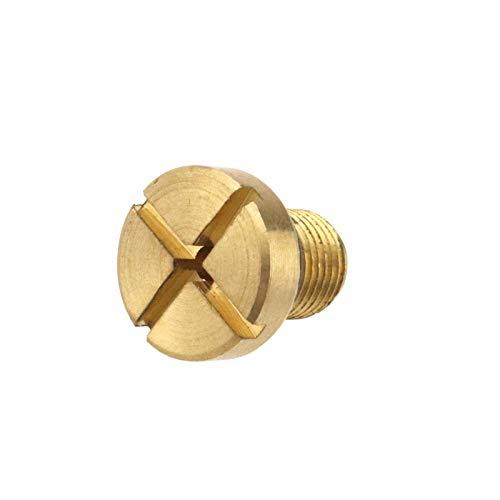 1x Kühlerschlauch Entlüftungsschraube Kühler Kühlablassschraube Schraube mit O-ring 17111712788