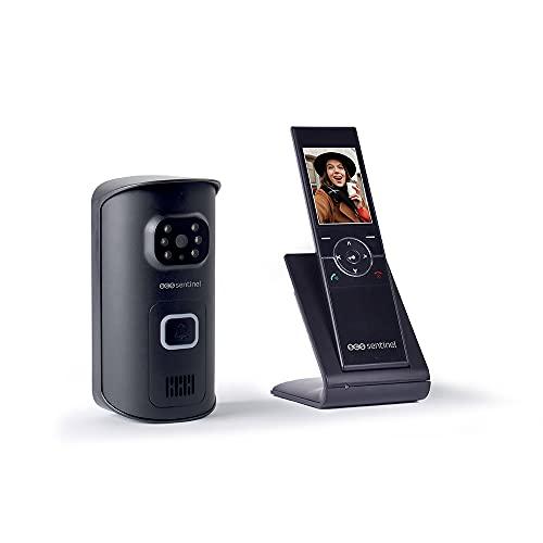 Inalámbrico de intercomunicación de vídeo - Porter de vídeo inalámbrico - Video Portero inalámbrico teléfono portátil - videoteléfono inalámbrico AirVisio 150 - PVS0010 SCS Sentinel