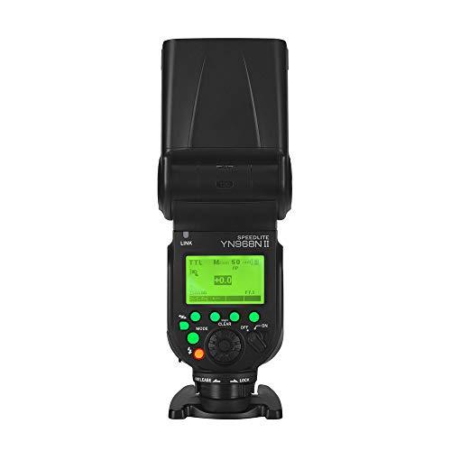 YONGNUO YN968N II YN968NII GN60 Wireless On Camera Flash Speedlite Unit HSS TTL 1/8000s for Nikon D7300 D7200 D7100 D5600 D5500 D3300 D3000 D500 D810 D750