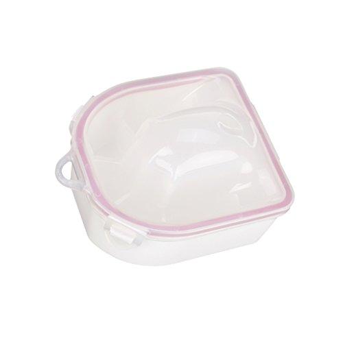 Nail SPA Acetone Resistant Soak Off Warm Water Bowl Manicure Nail Soak Bowl Manicure Treatment Tool