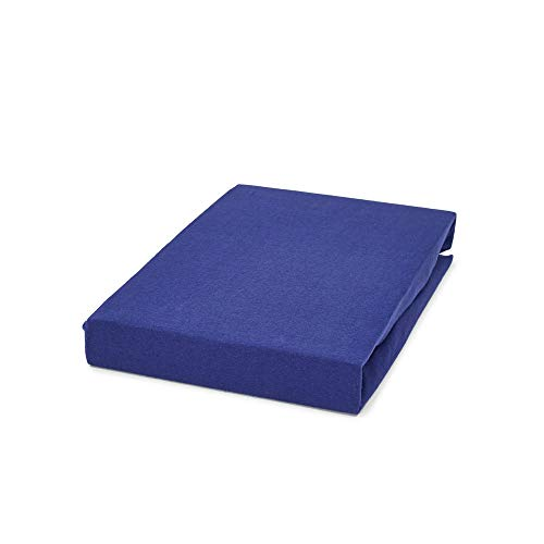 DreamHome waterbed hoeslaken boxspring hoeslaken bedlaken 180x220 / 200x220 40cm steg, kleur: marine