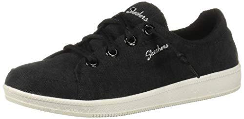 Skechers Women's Madison Ave-Inner City Sneaker, BKW, 9.5 M US