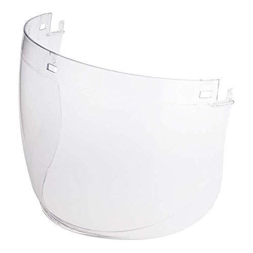 3M Pantalla incolora de policarbonato para G500/G3000 antiempañamiento (1 pantalla/bolsa), 5F-11