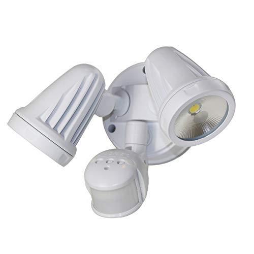 26W (2x13W) LED Duo wandlamp IP54 met PIR-infrarood bewegingsmelder sensor warm wit