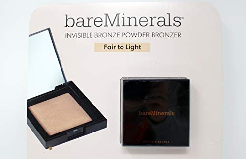 bareMinerals Invisible Bronze Powder Bronzer, Fair to Light, 0.24 Ounce
