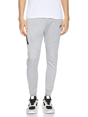Nike Sportswear Tech Fleece Jogger Pantaloni, Uomo, Dk Grey Heather/Nero/Nero, XL