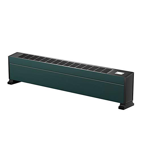 LIZONGFQ Riscaldatore di battiscopa 2200W Riscaldamento rapido ad Alta Potenza con termostato Alluminio Riscaldamento radiante Riscaldatore Domestico IPX4 IPX4 Riscaldatore Impermeabile