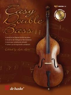 EASY DOUBLE BASS - 13 STUECKE FUER ANFAENGER - arrangiert für Kontrabass - Klavier - mit CD [Noten / Sheetmusic]