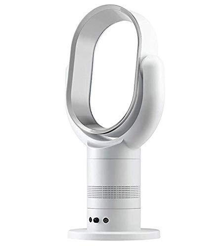 SanQing Ventilador de Torre, Ventilador de Piso sin páginas, Ventilador de Control Remoto Inteligente para el hogar Aire Fresco,Plata