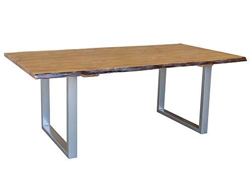 FORMA IRREGOLARE 2 Tavolo albero #04 220x100cm Acacia legno massello