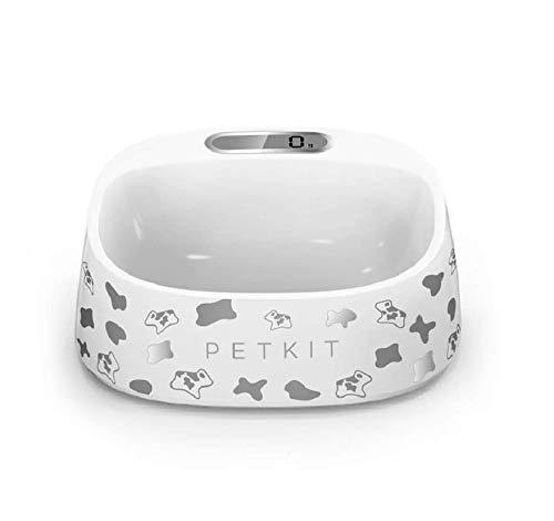 PET KIT Ciotola per dosaggio, con Bilancia Elettronica per Gatti e Cani di Piccola Taglia (Milk)