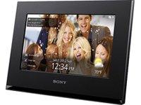 Sony DPFWA700B Digitaler Bilderrahmen mit W-LAN-Funktion (18 cm (7 Zoll) Display, Internet Radio, HD-Video, 1GB interner Speicher) schwarz