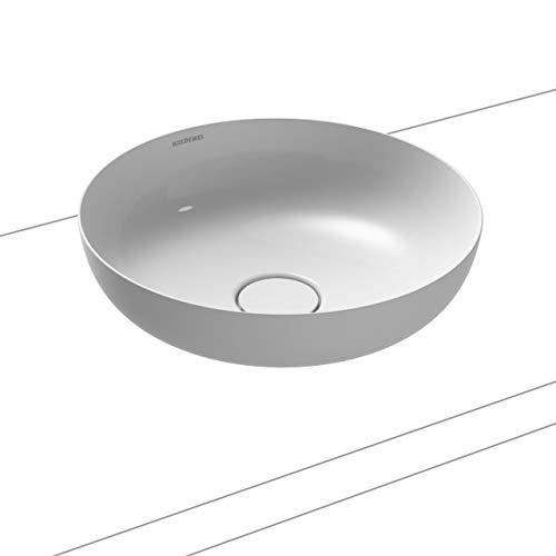 Kaldewei Waschtisch-Schale rund Miena 3181 (ohne Überlauf) inkl. Perl-Effekt ⌀ 38 cm alpinweiß