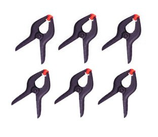 "Cheaplights 6 PCS 3.75"" Spring Clamps"