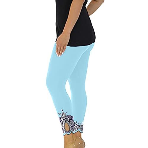 FOTBIMK Mujeres Deporte Yoga Pantalones Entrenamiento Mediados Cintura Running Pantalones Fitness Elástica Legging Spocket Pantalones Cortos Pantalones