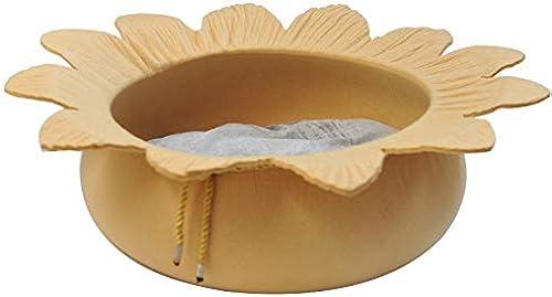 centro comercial de moda CARBE kennelDog Bed Forma de la Flor Pet Sleeping Bed Bed Bed Fieltro Perros Perrera Puppy Casa Cueva Estera Suave Cojín Portátil 40x15cm amarillo  apresurado a ver