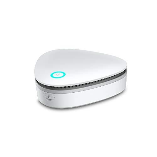 Luftreiniger für Privathaushalte, Schlafzimmerkühlschränke, Haustiere, Schuhschränke, Autoschränke, Schränke, und Desodorierung Luftreinigung.360 ° Ozongenerator Desinfektionsmittel Deodorant