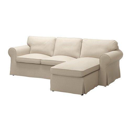 IKEA 3人掛け用カバー Nordvalla ダークベージュ 2028.52323.1422