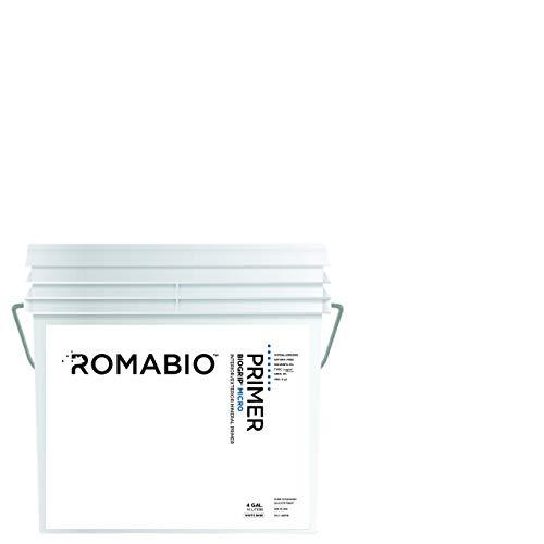 Romabio BioGrip Micro Primer, Interior/Exterior, Italian Mineral Primer, 15L/4GAL