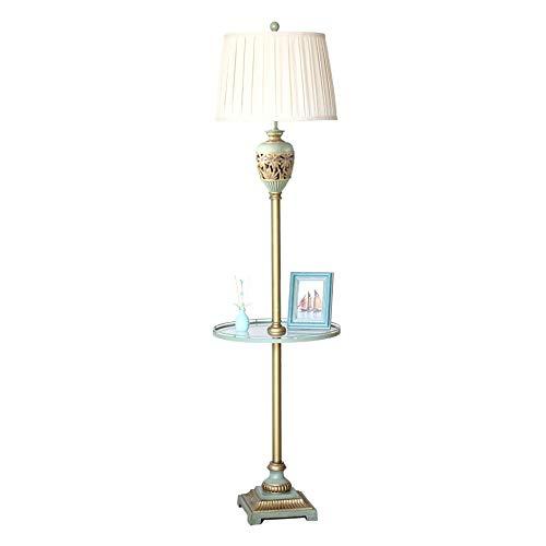 LEGELY moderne glazen plaat van metaal vloerlamp voor woonkamer slaapkamer studio vloerlamp met stoffen kap 162 cm hoogte