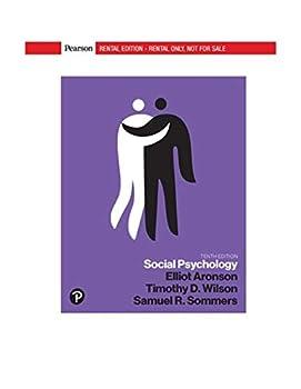 Social Psychology  10th Edition