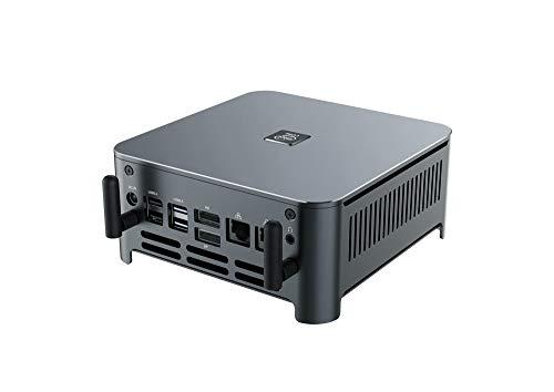 KINGDEL K13 Mini PC Desktop Intel i9-9880H Processori Max 4.80GHz Frequenza 16MB Cache Windows 10 Pro 64GB DDR4 RAM 2TB SSD, Supporto 4K WIFI, con ventilatore, 4* USB3.0, 1* DP, 1* HD, 2* RJ45 LAN