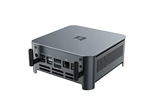 KINGDEL Intel i9 9th Gen. Mini PC Business Computadora, 8 núcleos hasta 4,80 GHz CPU, 32 GB DDR4 RAM, 1 TB SSD, 2 LAN 1 x HD 1 x DP 1 x Tipo-C 4 x USB 3.0, Wifi Fan, Windows 10 Pro