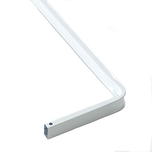 """28"""" to 48"""" - Kirsch SUPER DUTY Lockseam CURTAIN ROD with 3"""" Clearance #6133-025"""