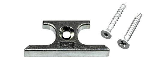 SI Siegenia Aubi Schließblech Schliessplatte 0804 oder A0804 (285244) incl. SN-TEC Montagematerial