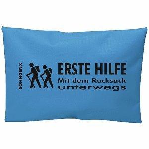 Söhngen Erste-Hilfe-Set Mit dem Rucksack unterwegs blau