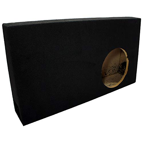 Compatible with Ford F150 Extended Super Cab Truck 2004-2008 Single 10' Vented Subwoofer Sub Box Speaker Enclosure