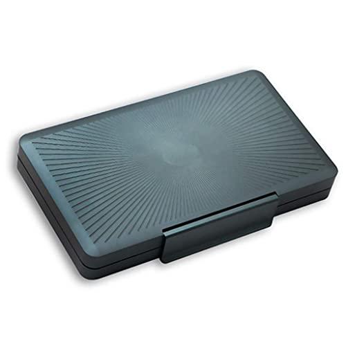 Juego para fumar / Accesorios para puros y humidor Barware Caja de cigarros Caja de humedad Humidificador portátil Aluminio Aleación de aleación Caja de cigarro de alta capacidad Caja de cigarros Caja