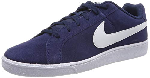 Nike Court Royale Suede Zapatillas de tenis Hombre, Azul/Blanco (Midnight Navy/White), 40.5 EU