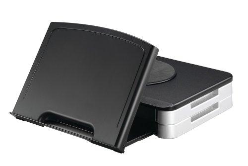 Q-Connect Ständer/Manuskripthalter für Monitor–Schwarz