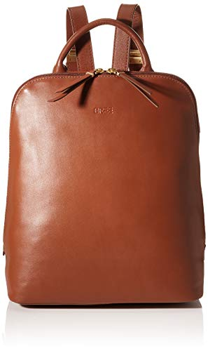 BREE Collection dames Toulouse 8, ArganOil, Backpack M S20 rugzak, bruin, 16x33x28 cm
