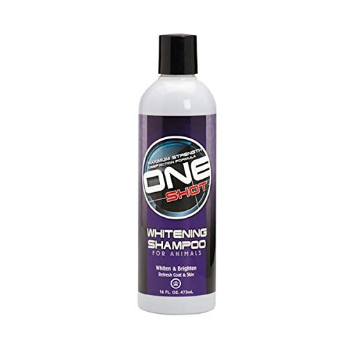One Shot Whitening Shampoo, 16 Oz