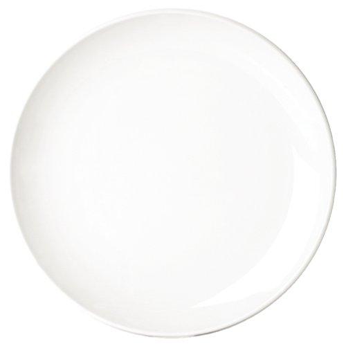 Classique White Rim Assiette plate étroite. Dimensions: 210mm (8,25 \