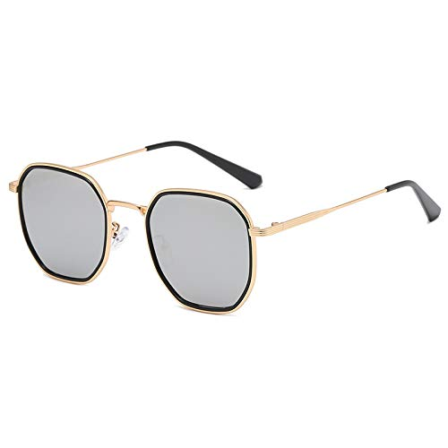 Gafas de Sol Sunglasses Gafas De Sol Clásicas Clásicas para Mujer, Montura De Gafas De Gran Tamaño para Hombre, Mujer, Diseñador De Lujo, Lente Transparente, Gafas para O