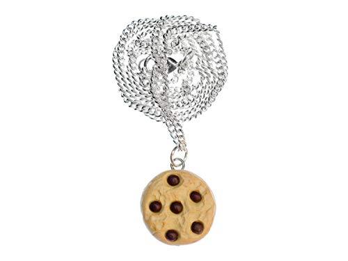 Miniblings Cookie Kette Keks Kette 45cm Chocolate Chips Kekse Süß Schokolade