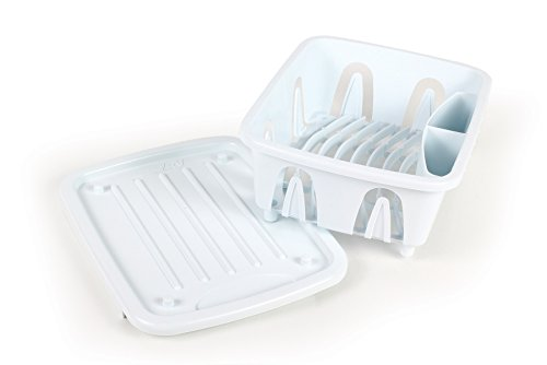 Camco 43511 White Mini Dish Drainer