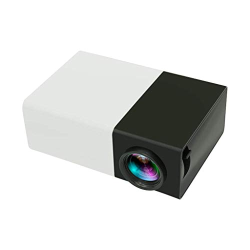 WYJW Mini Beamer Draagbare Kleine gekleurde LED Mini Projector door Kids Video Game Party Game Outdoor Entertainment? ?met HDMI AV USB AV Interface (UK Plug)
