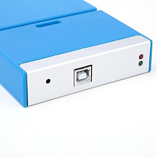 Oscilloscopio virtuale per PC, C520 Oscilloscopio virtuale portatile a doppio canale portatile per PC Larghezza di banda 20MHz 50M accessorio di test Oscilloscopio