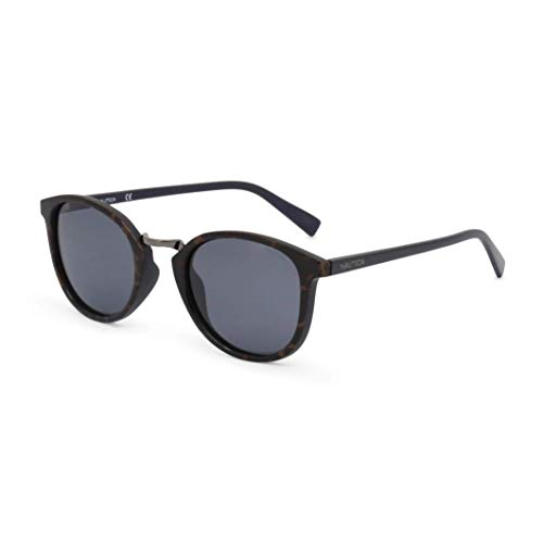 Nautica Herren N3620Sp 255 51 Sonnenbrille, Blau (Dark Tort Over Matte Navy)