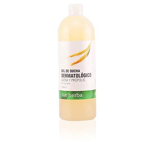 Tot Herba Gel de Ducha Dermatológico Avena y Propolis - 1000 ml