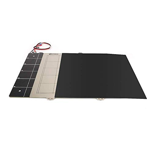 Kit termistore per cablaggio da 24 V con letto riscaldato magnetico per stampante 3D con lamiera di acciaio 300300 mm per Creality CR-10 CR10 BLV MGN Cube Accessori per la stampa 3D (dimensioni: solo