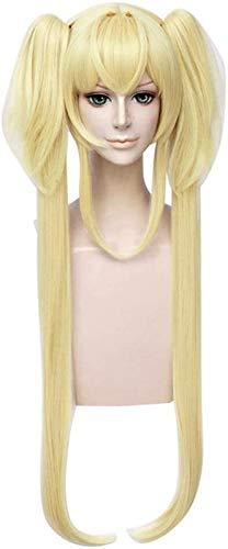 RTUTUR Cosplay Wig Sofia LA Primera Sofia Naranja Pelo Larga Larga Cosplay Moda DE Moda Anime Anime Costura Humana PELOS Completo Pana SINTÉTICA Fibra DE RESORTADOR