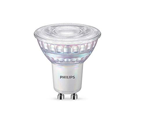 Philips Lighting Faretto LED, Equivalente a 80W, Attacco GU10, Luce Bianca Fredda, Dimmerabile