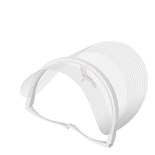 RRunzfon Terapia de la luz de la Cara LED 3 Colores Tratamiento de fotones Anti envejecimiento Cubierta Facial con batería, Instrumento de Cara